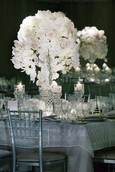 White Wedding Decoration Ideas ❤ See more: http://www.weddingforward.com/white-wedding-decoration-ideas/ #weddingforward #bride #bridal #wedding