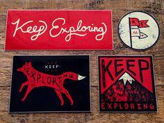 Sam Larson / Sticker design