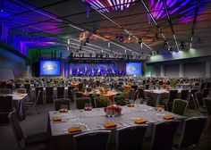 The  New Grand Ballroom looked stunning decked out for the Gala Grand Opening!