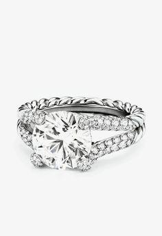 David Yurman Engagement Ring