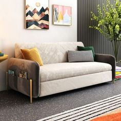The best sleeper sofa & sofa transitional beds – Home Decor Living Room Decor Furniture, Living Room Sofa Design, Sofa Cumbed Design, Low Back Sofa, Sofa Bed For Small Spaces, Best Sleeper Sofa, Types Of Sofas, Bedroom Seating, Yurts