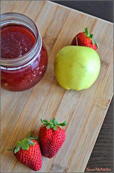 Sweet my Kitchen: Doce de morango e maçã