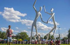 Image result for oversize outdoor sculpture of the world