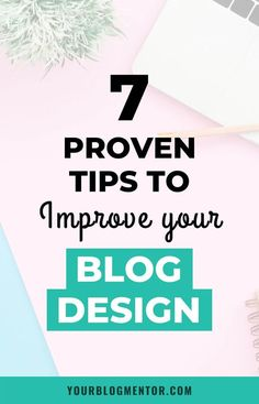 Your blog design plays an important role in deciding who stays on your blog and who doesn't. Here are 7 proven tips to help you improve your blog design. #blogdesign #blogdesignideas #bloggingtips Make Money Blogging, How To Make Money, Content Marketing Strategy, Media Marketing, Online Marketing, Blogging For Beginners, Seo Tips, How To Start A Blog, Wordpress