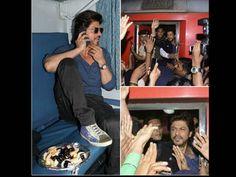 Raees By Rail: Shahrukh Khan's Raees Rail' Promotion Turns Tragic After A Man Dies At Vadodara Station (रईस के प्रमोशन के दौरान लाठीचार्ज, मुंबई से दिल्ली ट्रेन से जा रहे थे शाहरुख खान)
