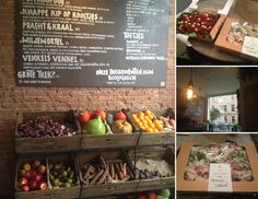 Venkel, an organic salad bar in De Pijp, just opened up its doors a few days ago. I have enjoyed it so much that I have already been there twice. I am already a great fan of SLA, the organic salad bar on the Ceintuurbaan, but you can never have too many salad bars in your neighbourhood.