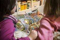 """Libri """"cerca e trova"""", """"aguzza la vista"""" e Wimmelbuch per sviluppare la capacità di osservazione dei bambini dai 3 anni in su - Bambini con libro attività"""