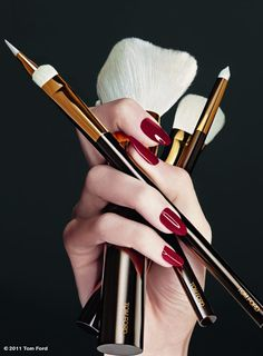 Tom Ford Makeup brushes...mmmmm.