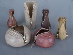 Paul Stafford started woodturning in 1983 when he became aware of the wonderful grains and patterns existing in nature's woods.