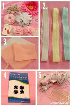 Tie A Little Bow: Easy DIY Headbands for Baby! These were so easy, I'm kicking myself for not making them sooner!