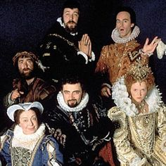 Edmund, Lord Blackadder   Elizabethan Age (1560's) Season II Cast.  My favorite season! <3