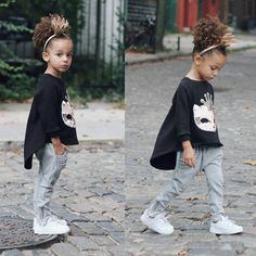cute little kid back-to school outfit #modelface #scoutstyle #streetstyle""