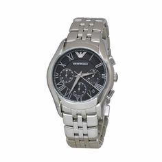 Emporio Armani Stainless Steel Chronograph Watch e11b53f2041