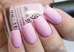 China Glaze Celebrate Courage 2014 Collection — Life is Beautiful: A baby pink creme. This is two coats.