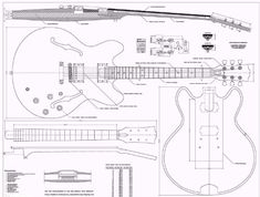 Gibson ES335 Jazz Guitar PLANS - Full Scale - How to Build by full scale plans to build guitar. $13.95. Gibson ES-335 Jazz - Guitar Plans for guitar (builder) Luthier 34 by 44 inches. Full scale plans detailing the building of the Legendary Gibson ES335 Jazz - Electric guitar, all the components are detailed, with measurements, and electronic information, and fret spacing calculations.. will ship in large envelope folded.