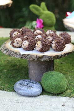 hedgehog donut holes Can't wait to make these little guys so sweet