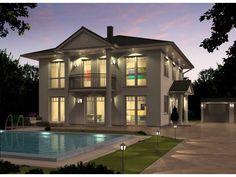 Hausbeispiel 1 - #Einfamilienhaus von REGIO Massivhaus V.I.B GbR | HausXXL #Massivhaus #Energiesparhaus #Passivhaus #klassisch #Zeltdach