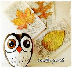 Contos de Outono Artesanatos: Coruja e Pinguim de garrafa pet