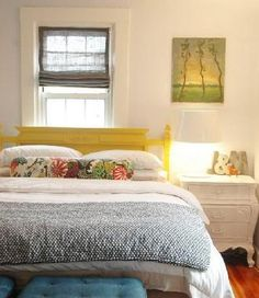 I want this yellow bed