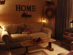 primitive+decor+in+living+room | Primitive Living Room, Living Rooms Design