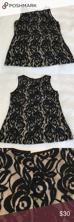 NWT BR lace shell NET Banana Republic lace shell. Beautiful for the office or a special event. Banana Republic Tops Blouses