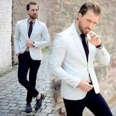 Zara Blazer, Reiss Tie, Asos Shirt, Daniel Wellington Watch, River Island Trousers, Selected Shoes