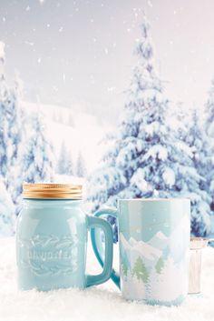 Bundle up with the best gift of the season! Best Loose Leaf Tea, Davids Tea, My Cup Of Tea, Cute Mugs, Tea Accessories, Tea Party, Tea Cups, Caffeine, Winter Wonderland