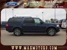 2016 Ford Expedition EL Harrisonville, MO 1FMJK1JT4GEF12768 #Ford #Explorer #USA #MaxFord