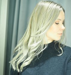 New Year, New Hair - Cold Blonde Highlights Hopea, Blonde Highlights, Helsinki, New Hair, Long Hair Styles, Beauty, Fashion, Fashion Styles, Blond Highlights