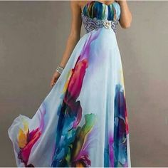 I love the colors and the draping of the fabric!