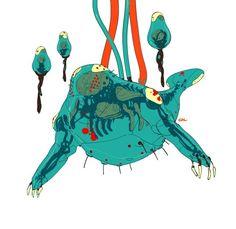 Calum Alexander Watt More DeadStar pilots Character Concept, Character Art, Alien Concept Art, Subnautica Concept Art, Arte Cyberpunk, Alien Art, Ex Machina, Creature Design, Character Design Inspiration