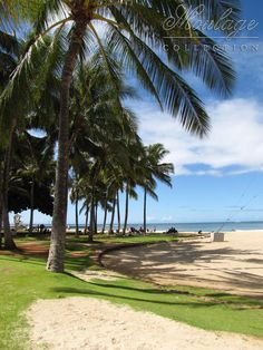 Waikiki beach, Honolulu, Hawaii where I met Michael in 2010 for the Tiger Cruise.  -L