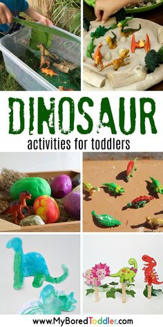 Dinosaur Activities for Toddlers dinosaur activities for toddlers 2 year olds 3 year olds dinosaur sensory bins sensory play The post Dinosaur Activities for Toddlers appeared first on Toddlers Diy. 4 Year Old Activities, Toddler Learning Activities, Infant Activities, Preschool Activities, Creative Activities For Toddlers, Educational Activities, Kids Learning, Activities For The Elderly, Dinosaur Party Activities