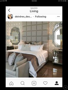 Bedroom, Furniture, Home Decor, Bedrooms, Home Furnishings, Home Interior Design, Dorm Room, Master Bedrooms, Decoration Home