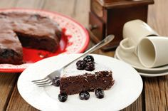 Here's a recipe for a healthier version of chocolate cake using avocado.