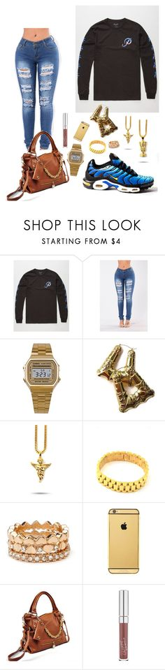 """P Sunset"" by imanifashions on Polyvore featuring Primitive, Freaker, American Apparel, The Gold Gods, Forever 21, Goldgenie and 19th Street"