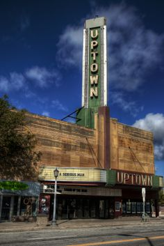 Landmark Uptown Theater in Uptown Minneapolis.
