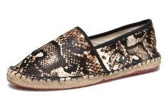 Espadrilles python 'Lucy' Colors of California (du 36 au 41), 49,50€ - 55€ (-10) sur Sarenza