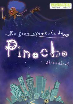 Creación del dossier del musical familiar LA GRAN AVENTURA DE PINOCHO   www.lagranaventuradepinocho.com   www.candilejaproducciones.com