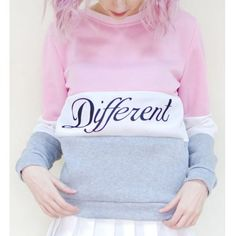 SHARE & Get it FREE   Preppy Style Color Block Round Neck Letter Print Long Sleeve Flocking Sweatshirt For WomenFor Fashion Lovers only:80,000+ Items·FREE SHIPPING Join Dresslily: Get YOUR $50 NOW!