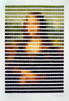 1 | Famous Art Recreated From Pantone Color Chips | Co.Design | business + design