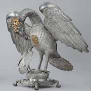 Silver Pelican Eucharistic Urn 18th century (Monasterio de Nuestra Señora del Prado, Lima)