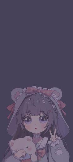 Pin by Estefani on Wallpapers phone in 2021 | Ilustrasi karakter, Anime estetika, Wallpaper kawaii