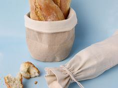 Linen/Cotton Weave Sack with 8oz cotton drawstring bag...byo bread and wine..!