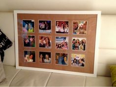DIY: How To Make Your Own Collage Picture Frame (http://blog.kicksend.com/diy-make-your-own-collage-picture-frame/)