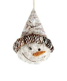 Love this Smiling Snowman Head Ornament by Blossom Bucket on #zulily! #zulilyfinds
