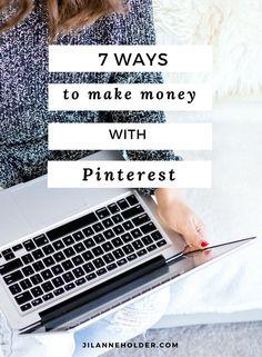 7 Ways to Make Money with Pinterest