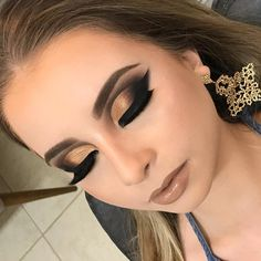 Organic Makeup For Kids Awesome Dramatic Pink And Black Smokey Eye Makeup  Pinterest  Black Decorating Design