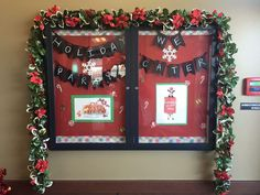 Christmas Ideas, Christmas Decorations, Holiday Decor, Cow Appreciation Day, Community Boards, Marketing Ideas, Event Ideas, Board Ideas, Bulletin Boards