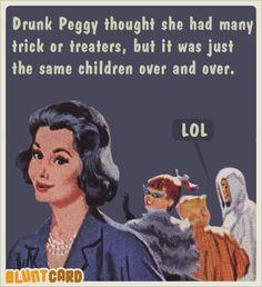 Funny free online cards for kind of mean, self absorbed, drunks. Bluntcard.com